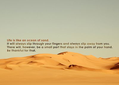 sand, deserts, quotes, inspirational - random desktop wallpaper