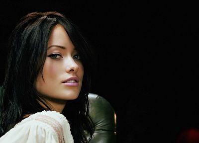 brunettes, women, actress, models, Olivia Wilde, faces - related desktop wallpaper