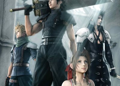 Final Fantasy, Sephiroth, Cloud Strife, Zack Fair, Kadaj, Aerith Gainsborough - random desktop wallpaper