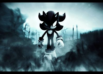 Sonic the Hedgehog, video games, assassins, dark, smoke, shadows, Sonic - related desktop wallpaper