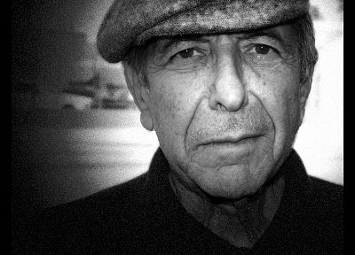 music, Leonard Cohen, singers - desktop wallpaper