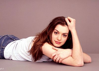 women, Anne Hathaway - desktop wallpaper