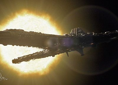 spaceships, vehicles, Stargate Universe (Destiny) - random desktop wallpaper