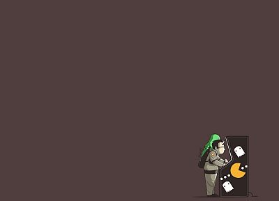 minimalistic, funny, arcade, Ghostbusters - related desktop wallpaper