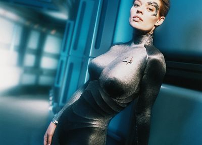 women, Jeri Ryan, Seven of Nine, Star Trek Voyager - random desktop wallpaper