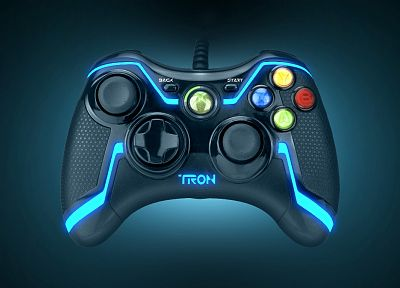 Tron, controllers, Xbox 360 - related desktop wallpaper