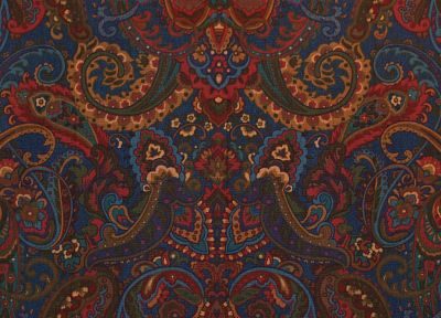 patterns, paisley - random desktop wallpaper