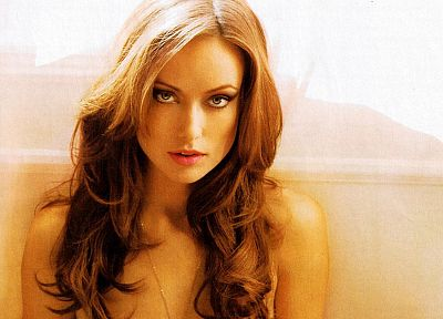 brunettes, blondes, women, actress, models, Olivia Wilde - desktop wallpaper