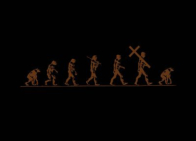 religion, evolution, Jesus, truth - desktop wallpaper