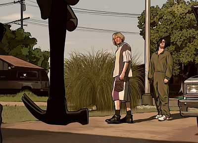 movies, A Scanner Darkly - related desktop wallpaper