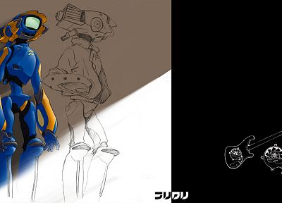FLCL Fooly Cooly, Canti - random desktop wallpaper