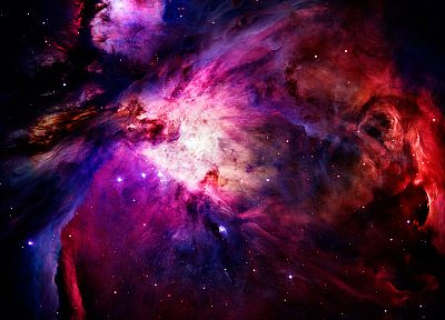 outer space, nebulae - random desktop wallpaper