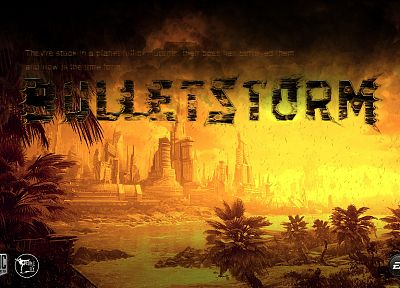 video games, ammunition, Bulletstorm - random desktop wallpaper