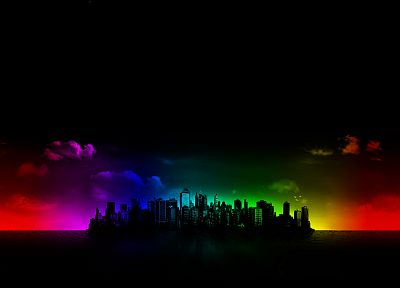 cityscapes, multicolor, buildings - related desktop wallpaper