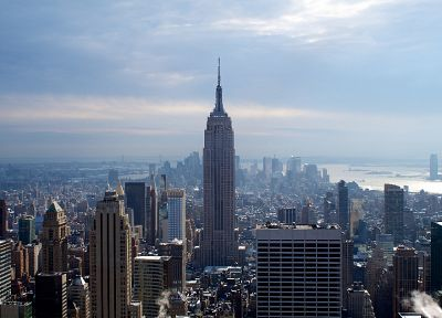USA, New York City, Empire State Building, cities - random desktop wallpaper