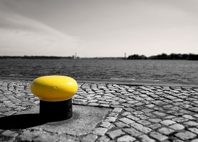 water, cityscapes, Germany, piers, tilt-shift, selective coloring - related desktop wallpaper