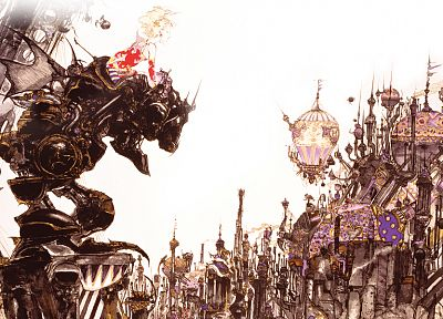 video games, Yoshitaka Amano, Final Fantasy VI - random desktop wallpaper