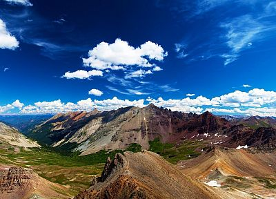 mountains, landscapes, nature, skyscapes - related desktop wallpaper