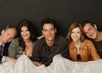 Alyson Hannigan, Neil Patrick Harris, Cobie Smulders, How I Met Your Mother, TV series, Jason Segel, Josh Radnor - random desktop wallpaper