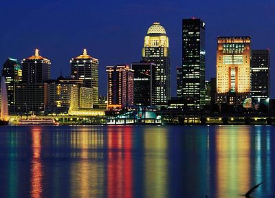 cityscapes, louisville - random desktop wallpaper