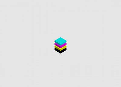 minimalistic, CMYK - desktop wallpaper