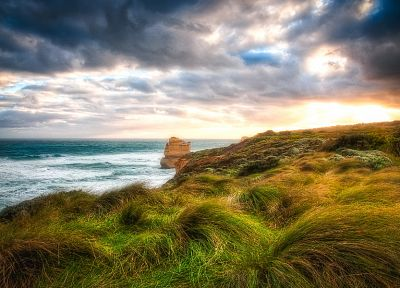 landscapes, nature, coast, HDR photography - related desktop wallpaper