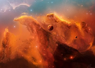 outer space, stars, planets, nebulae, JoeJesus, Josef Barton - related desktop wallpaper
