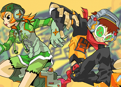 graffiti, Dreamcast, Jet Set Radio, spray paint, Jet Grind Radio, spraycan - random desktop wallpaper