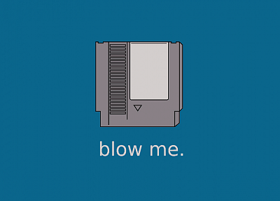 Nintendo, blowjobs, slogan, Nintendo Entertainment System - random desktop wallpaper