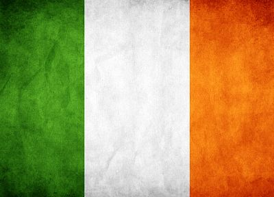 Ireland, flags - desktop wallpaper