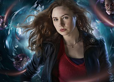 Karen Gillan, Amy Pond, Doctor Who - random desktop wallpaper