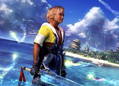 Final Fantasy, video games, Tidus - related desktop wallpaper