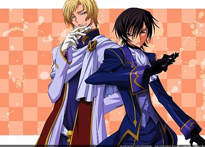 Code Geass, Lamperouge Lelouch, Schneizel el Britannia - random desktop wallpaper