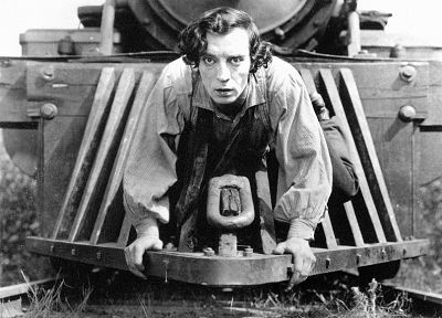 Buster Keaton - random desktop wallpaper
