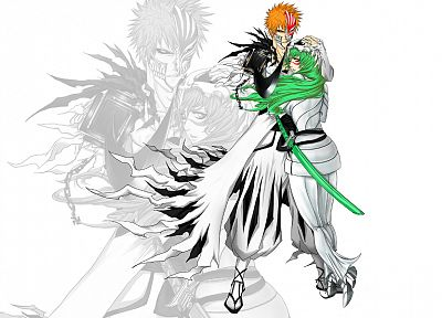 Bleach, Kurosaki Ichigo, Espada, Nelliel Tu Odelschwanck, Hollow Ichigo - related desktop wallpaper