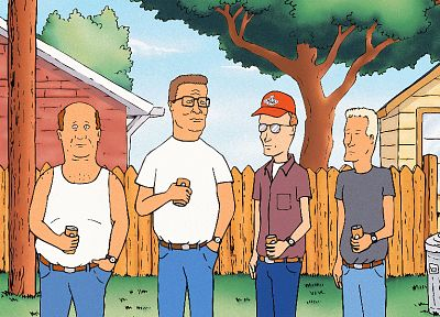 King of the Hill, Hank Hill - random desktop wallpaper