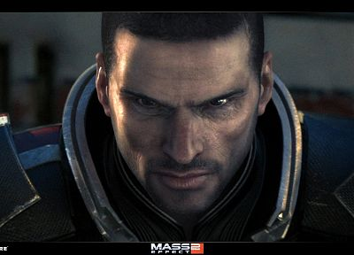 video games, Mass Effect, Commander Shepard - related desktop wallpaper