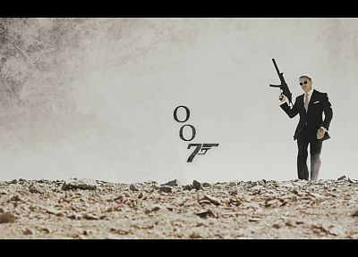 Quantum of Solace, men, James Bond, Daniel Craig - random desktop wallpaper