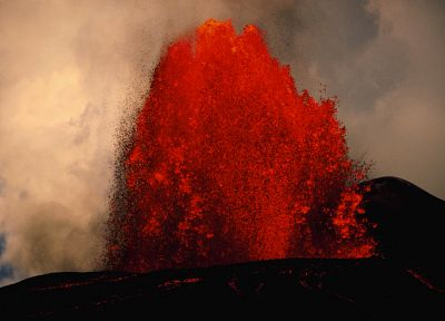 volcanoes, lava, eruption - related desktop wallpaper