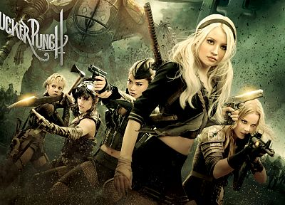 Emily Browning, Vanessa Hudgens, Sucker Punch, Jena Malone, Jamie Chung, Abbie Cornish - random desktop wallpaper