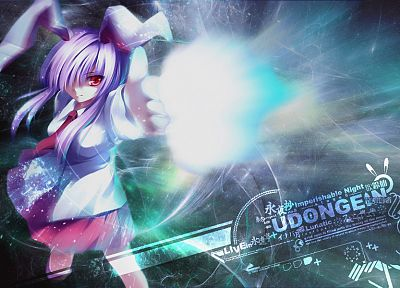 video games, Touhou, animal ears, Reisen Udongein Inaba - desktop wallpaper