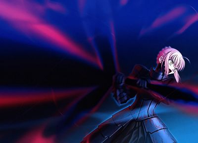 Fate/Stay Night, Saber, anime girls, Saber Alter, Fate series - related desktop wallpaper