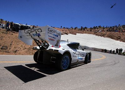Suzuki, escudo, Pike's Peak - newest desktop wallpaper