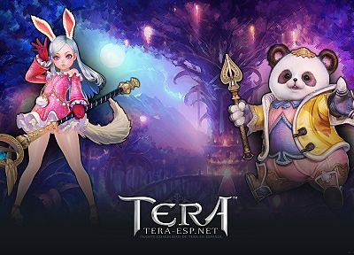 women, priest, Tera, popori, MMORPG, Elin - related desktop wallpaper