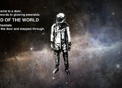 quotes, astronauts, cosmonaut - related desktop wallpaper