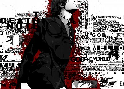 Death Note, Yagami Light - random desktop wallpaper