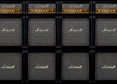 marshall, amplifiers, Marshall amplification - random desktop wallpaper