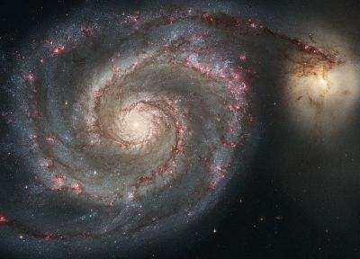 outer space, galaxies, NASA - related desktop wallpaper