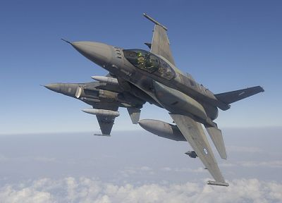 aircraft, military, vehicles, F-16 Fighting Falcon - related desktop wallpaper