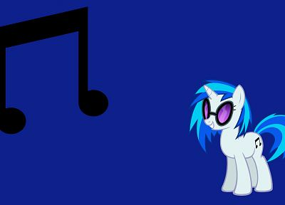 My Little Pony, Vinyl Scratch - random desktop wallpaper